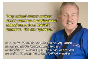 NAPMA Martial Art Testimonials - Jeff Smith